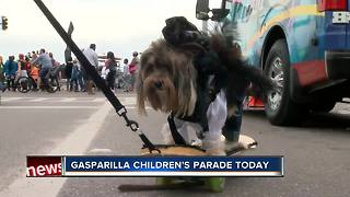 Gasparilla children's parade