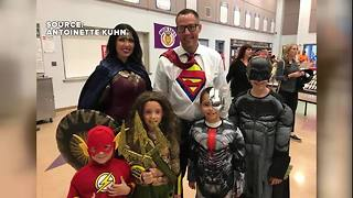 More kids and family dressed up for Halloween