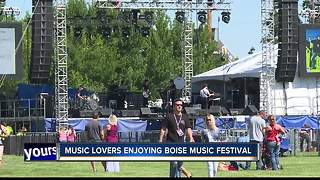 Boise Music Festival - Video