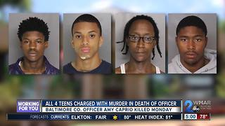 All four teens charged with Officer Caprio's murder identified - Video