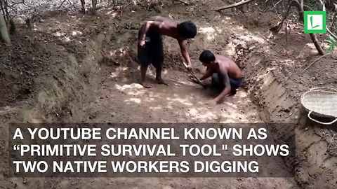 2 Villagers Dig Shallow Grave. Once I Realized What They Were Doing, I Couldn't Stop Watching