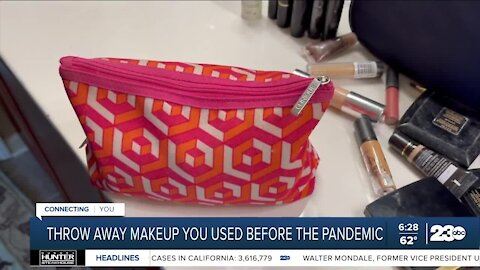 Why you should throw away makeup you used before the pandemic