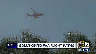FAA looking for public input over Phoenix flight paths - Video