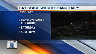 Frosty's Family Fun night at Wildlife Sanctuary in Green Bay