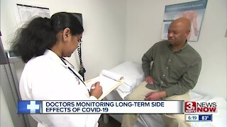 Doctors monitoring long-term side effects of COVID-19
