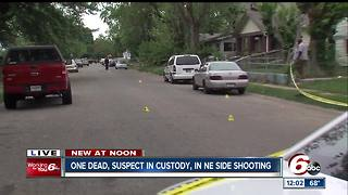 Person shot, killed on Indy's northeast side - Video