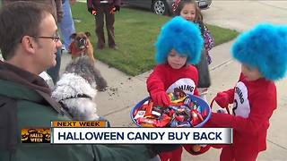 Halloween Candy Buy Back - Video