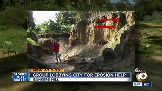 Group leans on San Diego City Council for erosion control