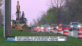 Concert goers say construction putting damper on summer concert series
