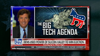 Tucker Carlson Slams Election Integrity, Says Big Tech Stacked Deck Against Trump