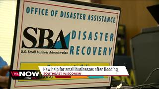 New help for small businesses after floods - Video