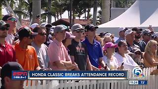 Honda Classic Breaks Attandance Records - Video