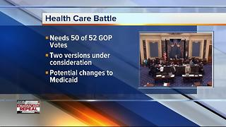 Republicans consider replacing health care later - Video