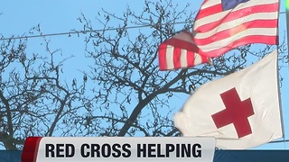 Red Cross supports families affected by Arbor Crossing fire - Video