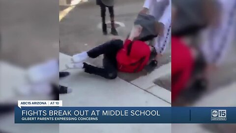 Fights break out at Gilbert middle school