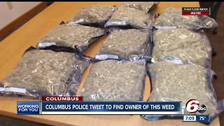 10 pounds of marijuana sent to wrong address in Columbus - Video