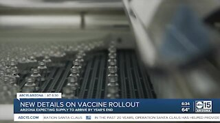 New details about COVID vaccine rollout in Arizona