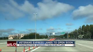 Veterans Expressway's express toll lanes to open by the end of the year - Video