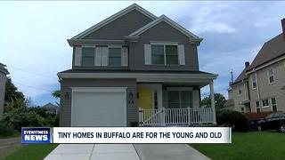 Tiny homes becoming popular in Buffalo - Video
