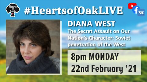 Diana West : The Secret Assault on our Nations Character 22.2.21