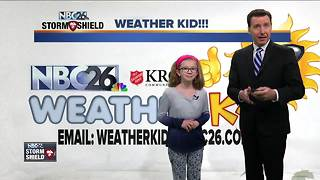 Meet Olivia, our NBC26 Weather Kid of the Week - Video