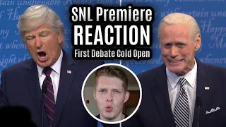 REACTION to SNL First Debate Cold Open & Season Premiere