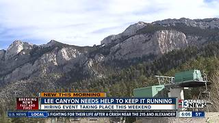 Lee Canyon making snow for season - Video