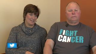 Freedom couple battles cancer together - Video