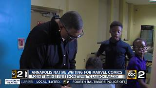 Annapolis native and Hollywood producer writing Marvel comic book - Video