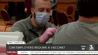 Can businesses require employees to get vaccinated?