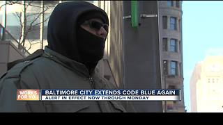 Code Blue extended once again in Baltimore - Video