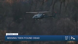 Missing Teen Found Dead