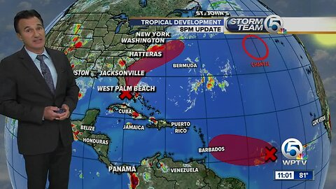 Area of low pressure in the Bahamas could impact South Florida's weekend weather