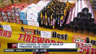 City Council expected to vote on firework ordinance Tuesday - Video