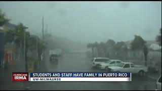 UW-Milwaukee students, staff have family in Irma's path - Video
