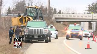 US-127 south at Cedar St. will be closed until Thursday - Video