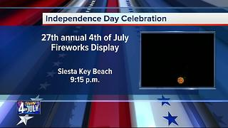 Fourth of July Celebration in Siesta Key - Video