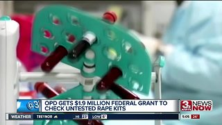 OPD gets $1.9 million federal grant to check untested rape kits