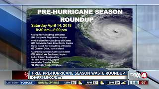 Pre-Hurricane Waste Round Up event in Collier County - Video