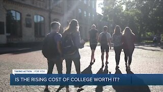 Is the rising cost of college worth it?