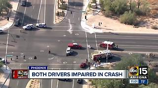 Both drivers impaired in Phoenix crash - Video