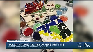 We're Open Green Country: Tulsa Stained Glass Creates Emergency Art Kits