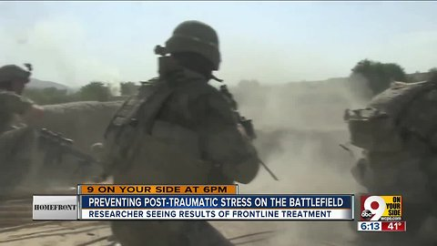 Preventing PTSD on the battlefield