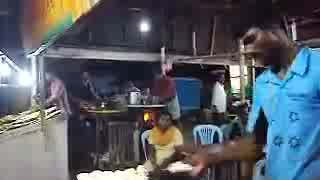 Throw dough only in India - Video