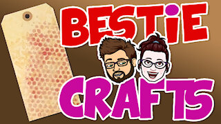 Bestie Crafts - Tag, you're it! - Learn to make personalized craft tags!