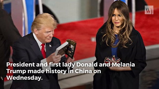 Trump Receives Honor from China No Foreign Leader Has Ever Earned Before - Video