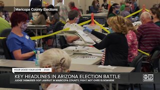 Lawsuit arguing for hand-count audit in Maricopa County dismissed