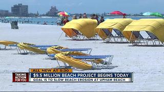 $9.5M beach project begins - Video