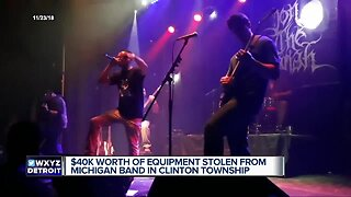 $40K worth of equipment stolen from Michigan band in Clinton Twp