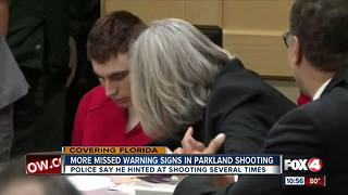 More missed warning signs in Parkland shooting - Video